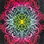 Untitled (Velvet Blacklight Zodiac Lovers No. 1)