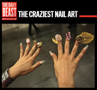 Craziest Nail Art Ever – 'Nailed,' a Book by Dzine